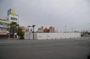 解体されたJOY CITY(伊勢市駅前)