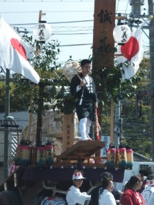 出雲町誠義会の初曳き(伊勢市中島)