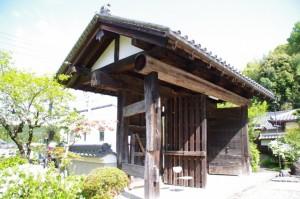 旧高取城二ノ門(子嶋山 子嶋寺)