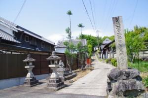 定林寺跡参道入り口(2582)