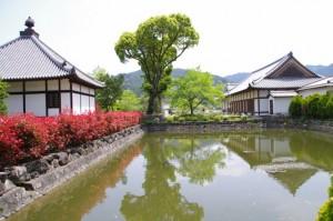 経堂、放生池、往生院(橘寺)
