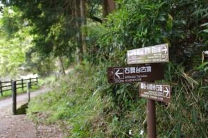 玉藻橋(4459)付近の道標
