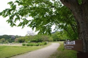 石舞台古墳への道標