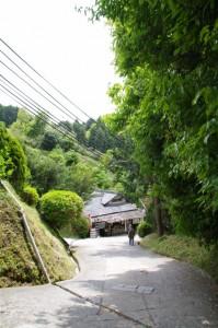 岡寺からの坂道にある「坂乃茶屋」