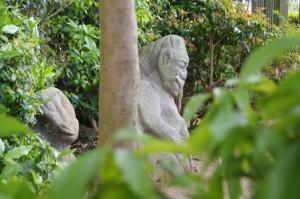 猿石(吉備姫王墓)