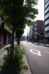 近鉄 橿原神宮前駅 東口からの風景