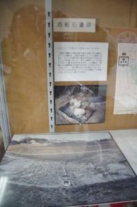 酒船石遺跡の説明(明日香村埋蔵文化財展示室)