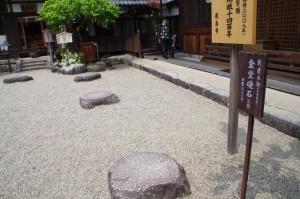 金堂の礎石(飛鳥寺)