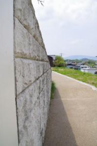 亀石(6510)付近の地下道