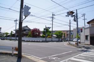 萱町交差点(3324付近)