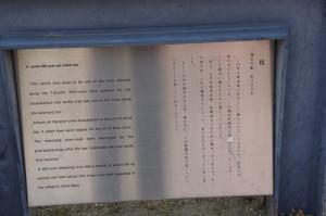 エノキの大木の説明板(7047)