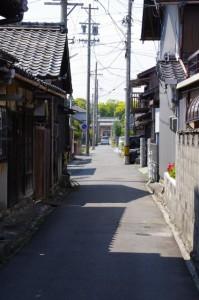 茂福神社の参道