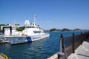 海上保安庁 PC17 しののめと三ツ島