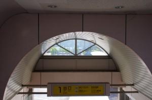 鳥羽駅 近鉄側の出口