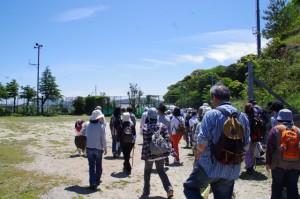 旧小浜小学校のグラウンド~大日和山