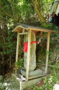 お地蔵さん(旧小浜小学校~大日和山)