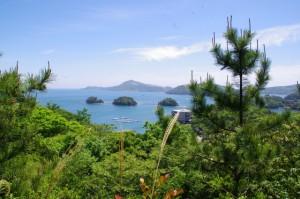 三つ島絶景展望台(お地蔵さん~大日和山)