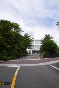 鳥羽国際ホテルへの道路
