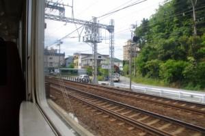 浜辺橋付近(JR参宮線 鳥羽駅~伊勢市駅)