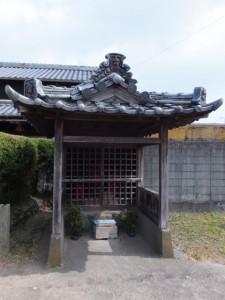 上長屋庚申堂(伊勢市御薗町)
