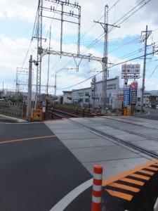近鉄山田線 踏切道 小俣 第十五号