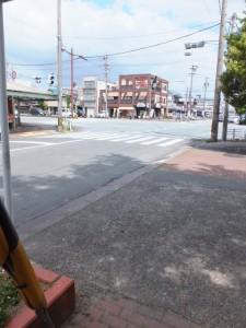 宮町交差点(今社付近)