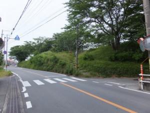 宮川堤(宮川右岸)への階段