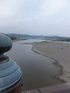度会橋から望む宮川上流方向