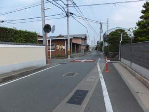 和合橋(菱川)から城田団地バス停へ