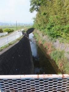 汁谷橋から望む汁谷川