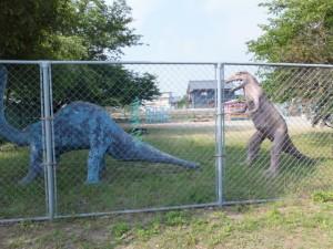 城田幼稚園の恐竜