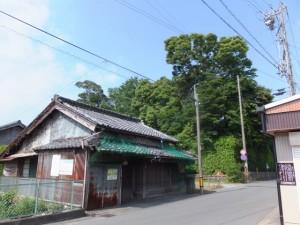 狭田国生神社の社叢