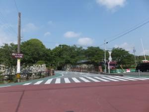田丸城址への入り口(大手門橋)