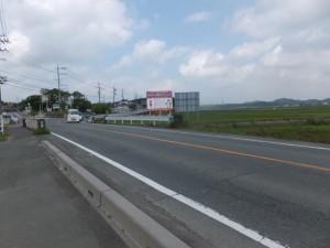 竹乃鼻橋(三郷川)付近