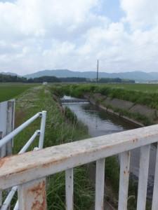 竹乃鼻橋から望む三郷川
