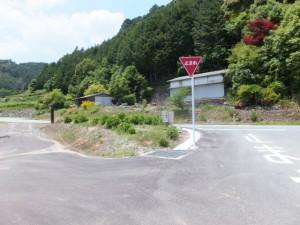県道709号線との合流