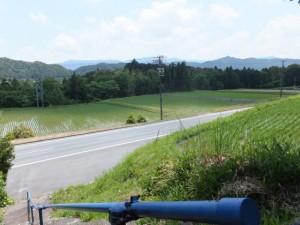 浄保法師五輪塔からの風景