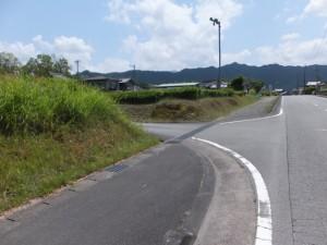 柳原観音 千福寺へ(左折)