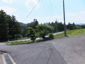 県道709号線(バイパス)との合流