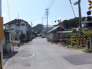 JR紀勢本線 新田踏切