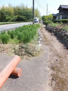 国道42号線沿いの熊野古道