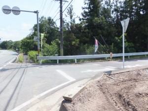 国道42号線から熊野古道への分岐