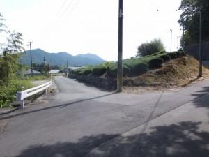 左折でJR紀勢本線 浅間踏切へ