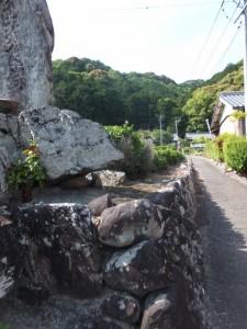 宝泉寺への参道