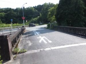 樋口橋(国道42号線との合流)
