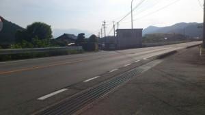 国道42号線を交差(大台町下三瀬)
