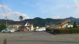 JR紀勢本線 三瀬谷駅前