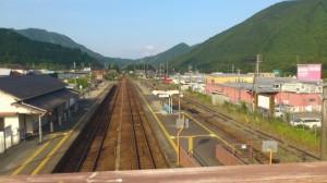 JR紀勢本線 三瀬谷駅(川添駅側)