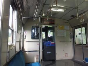 JR紀勢本線の列車内