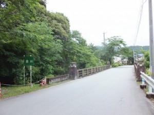 頓登川に架かる橋(瀧原宮付近)